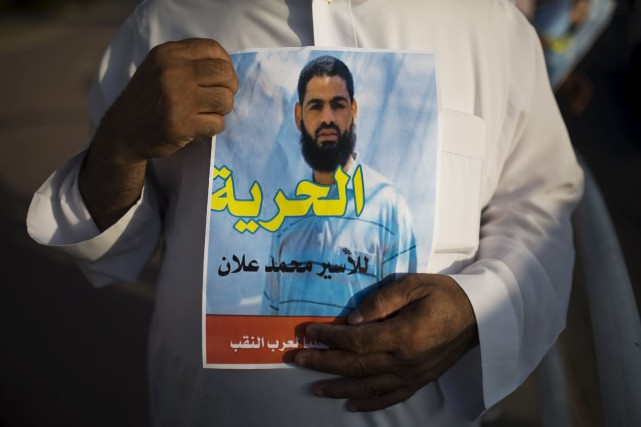 M. Allan, avocat de 31 ans défendant les... (Photo Amir Cohen, Reuters)