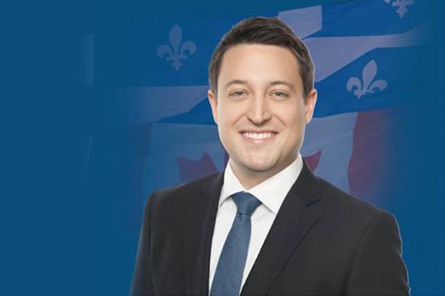Le candidat conservateur Pierre-Thomas Asselintente de déloger la... (Image tirée de Facebook)