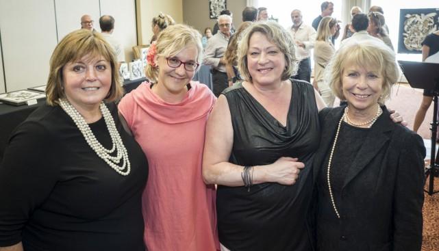 Trois femmes unies contre le cancer grâce à... (Photo François Lafrance)