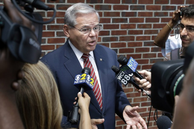 Robert Menendez... (PHOTO AP)