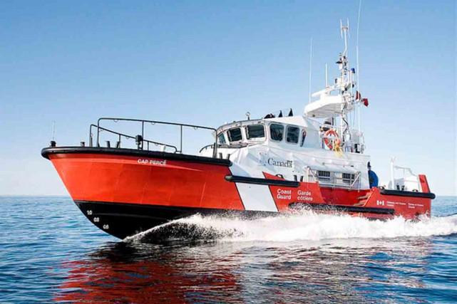 L'attribution des contrats pour la construction des bateaux... (Photo tirée du site de la Garde côtière canadienne)