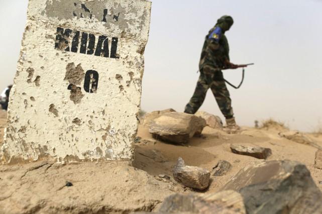 La zone de sécurité, mise en place «jusqu'à... (ARCHIVES AFP)