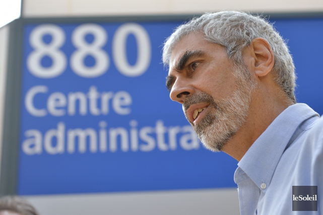 Michel Guay, président-directeur général du Groupe Techna, ne... (Le Soleil, Yan Doublet)