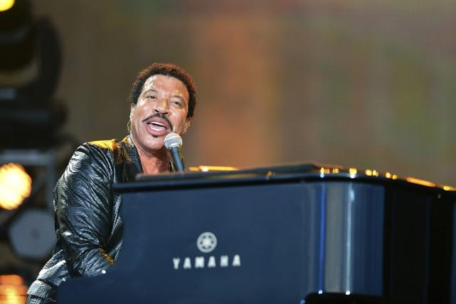Lionel Richie, 66 ans, a estimé qu'il s'agissait... (Photo AP)