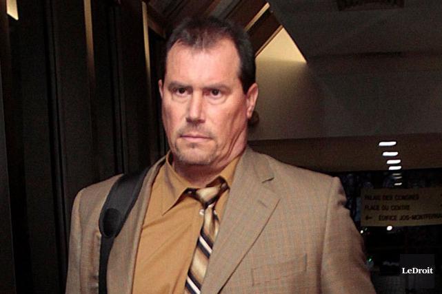 Jeffrey Greetham est suspendu avec salaire, même s'il... (Étienne Ranger, Archives LeDroit)
