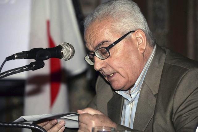 Khaled al-Assaad, âgé de 82 ans, chef des... (PHOTO SANA VIA AP)