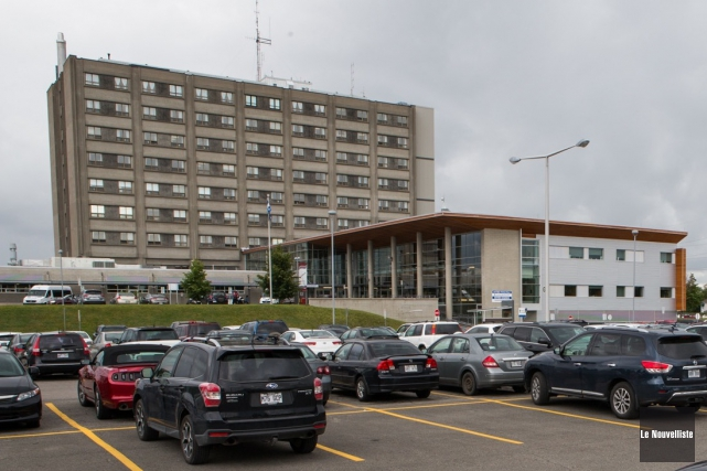 L'hôpital de Shawinigan est touché par l'avis d'ébullition... (Photo: Olivier Croteau Le Nouvelliste)