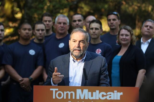 Thomas Mulcair, chef du NPD... (Photo Chad Hipolito, archives La Presse Canadienne)