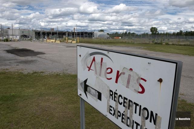 La saga de l'ancienne usine Aleris est loin... (Photo: Stéphane Lessard Le Nouvelliste)