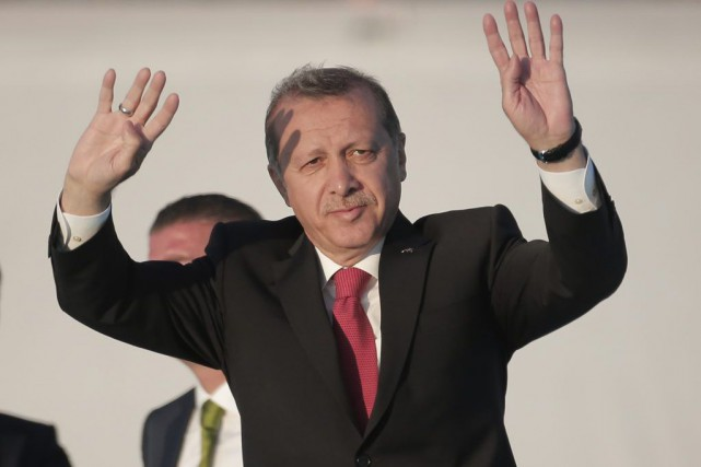 Recep Tayyip Erdogan... (PHOTO LEFTERIS PITARAKIS, ARCHIVES ASSOCIATED PRESS)
