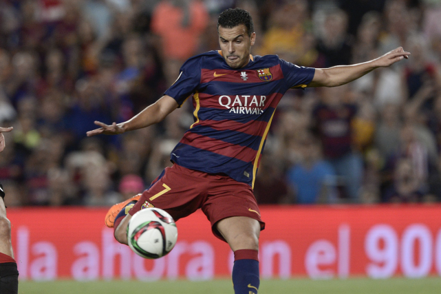 Le transfert de Pedro conclut de longues semaines... (Photo Josep Lago, AFP)