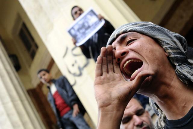 Le département d'État américain s'est dit «inquiet que... (Photo Ahmed Omar, archives AP)