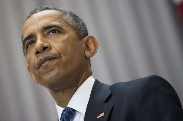 Le président américain Barack Obama... (PHOTO JIM WATSON, ARCHIVES AFP)