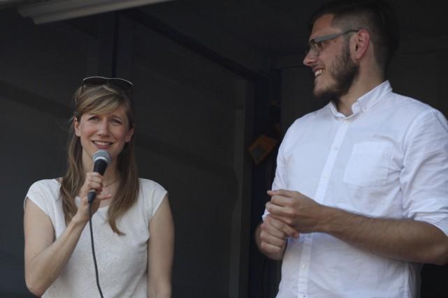 Jasmine Catudal et Vincent de Repentigny sont les... (PHOTO FOURNIE PAR L'OFFTA)