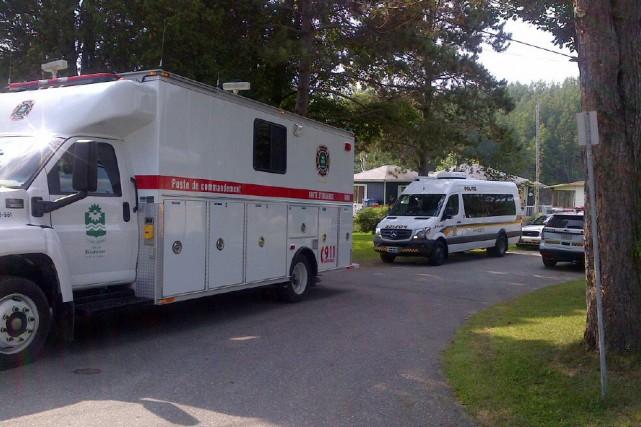 La dame de 77 ans portée disparue en matinée mercredi à Bécancour a été...