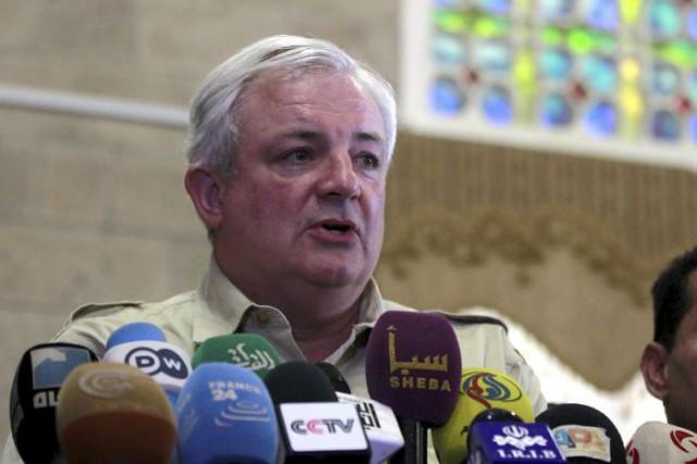«Ces attaques contreviennent clairement au droit humanitaire international... (Photo AFP)