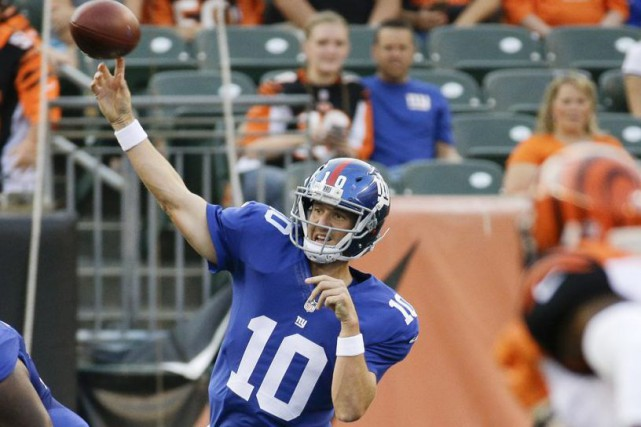 Eli Manning... (Photo AP)