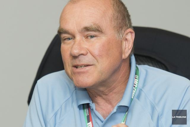 L'ex-directeur des Jeux d'été du Canada Luc Fournier.... (Photo archives La Tribune)
