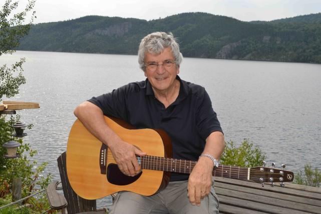Le chanteur français Georges Chelon... (Photo courtoisie, Jean-luc vanacker)