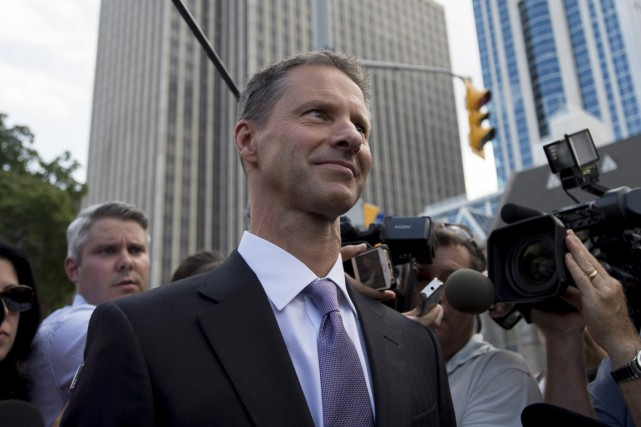 Le témoignage de Nigel Wright (photo) a pris... (Photo archives La Presse Canadienne)