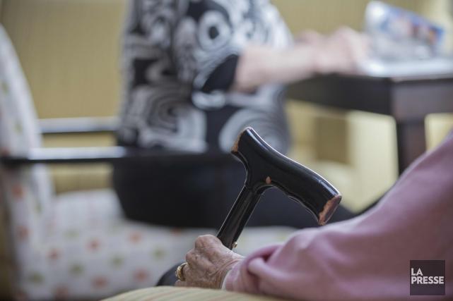 Quel sort notre société réserve-t-elle aux personnes âgées... (Photothèque La Presse)