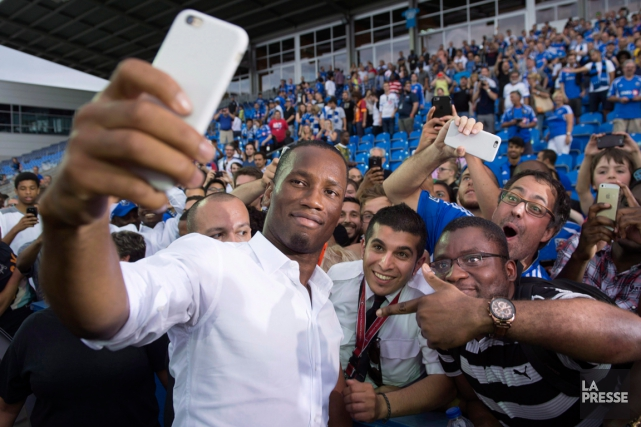 L'arrivée de Didier Drogba au sein de l'Impact... (Photo Paul Chiasson, archives PC)