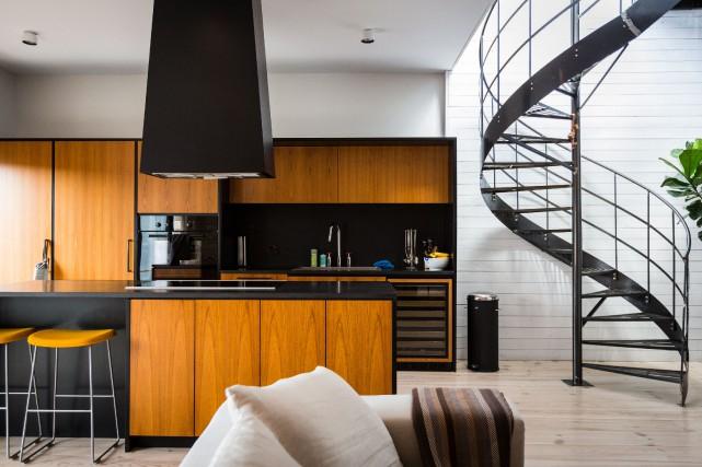 Le propriétaire voulait une grande cuisine à aire... (PHOTO EDOUARD PLANTE-FRÉCHETTE, LA PRESSE)