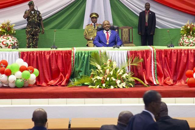 Le président burundais, Pierre Nkurunziza.... (PHOTO GRIFF TAPPER, AFP)