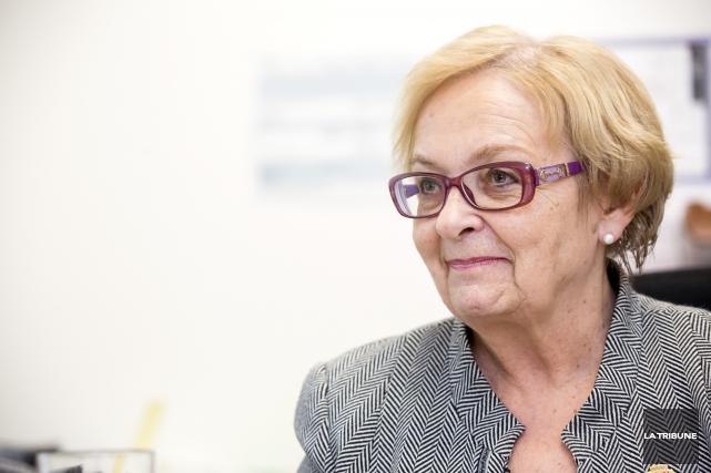 La mairesse de Lac-Mégantic, Colette Roy Laroche, annonce aujourd'hui son... (ARCHIVES LA TRIBUNE)