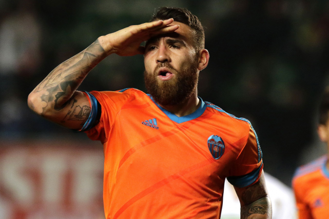 Le défenseur argentin Nicolas Otamendi... (Photo Jose Jordan, archives AFP)