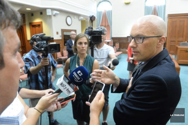 La Ville de Sherbrooke rejette le blâme du décès de Déliska Bergeron sur la... (Imacom, Maxime Picard)