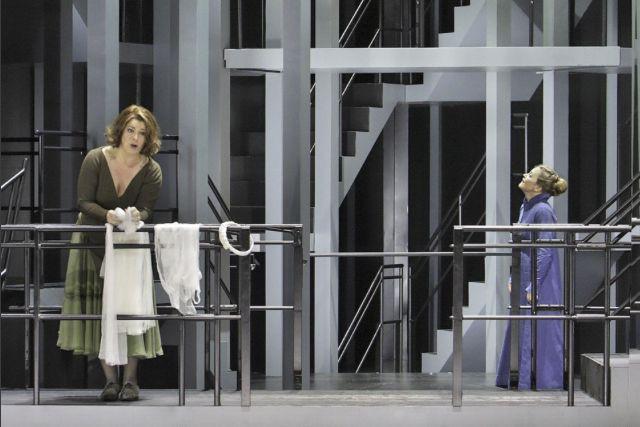 Christa Mayer (à gauche) et Evelyn Herlitzius (à... (Photo de courtoisie)