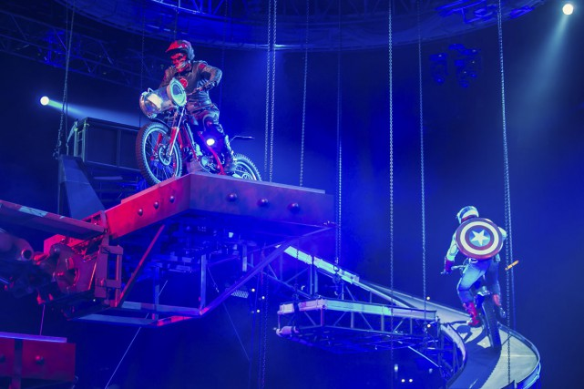 Les créateurs du spectacle Marvel Universe Live promettent... (PHOTO FOURNIE PAR MARVEL)