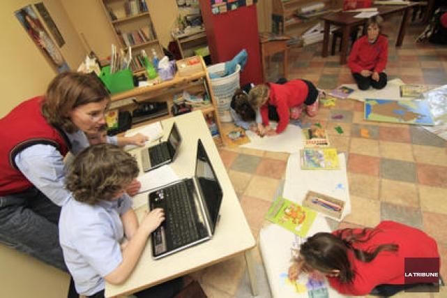 Les votes de grève se multiplieront en septembre dans le monde de l'éducation.... (Archives La Tribune)