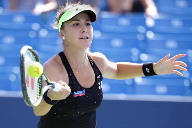 Belinda Bencic... (Photo John Minchillo, AP)