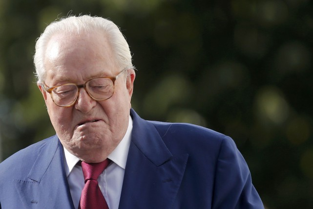 Le cofondateur du Front national, Jean-Marie Le Pen... (PHOTO Christian Hartmann, Reuters)