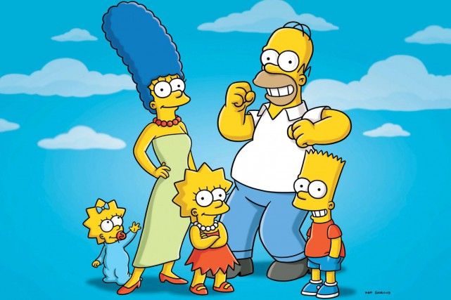 Une machine à boules des Simpson et des oeuvres d'art font partie des... (PHOTO AP)