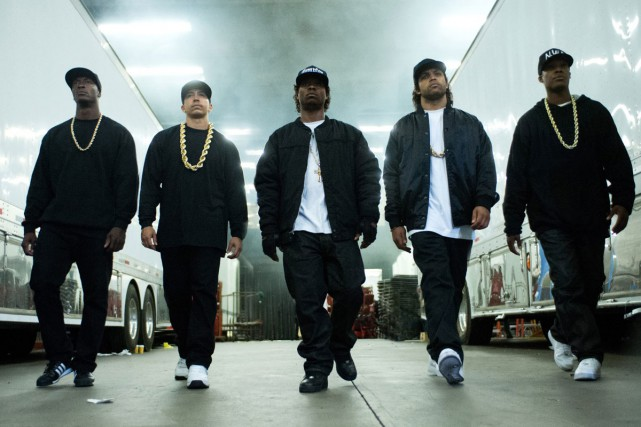 Straight Outta Compton... (PHOTO FOURNIE PAR UNIVERSAL PICTURES)