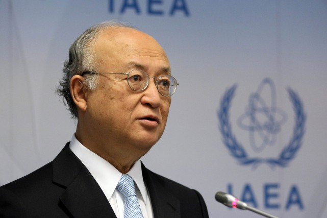 Yukiya Amano... (Photo Ronald Zak, archives AP)