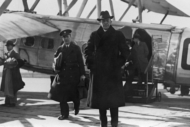Sergueï Rachmaninov en mars 1934.... (PHOTO AFP)