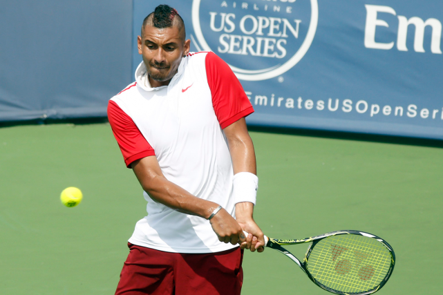 Nick Kyrgios... (Photo David Kohl, AP)