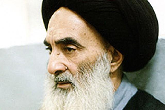 Ali al-Sistani, plus haute autorité religieuse chiite d'Irak.... (PHOTO ARCHIVES AFP)