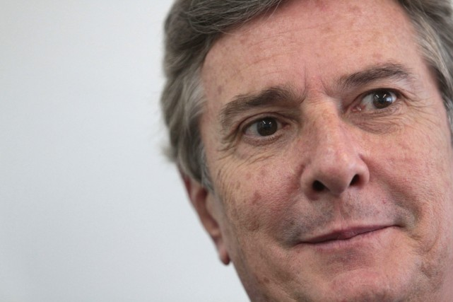 L'ancien président du Brésil, Fernando Collor de Mello,... (Photo Eraldo Peres, AP)