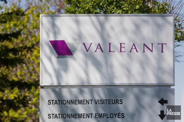 L'action de Valeant, qui s'échangeait à 239,62$ au... (PHOTO IVANOH DEMERS, ARCHIVES LA PRESSE)