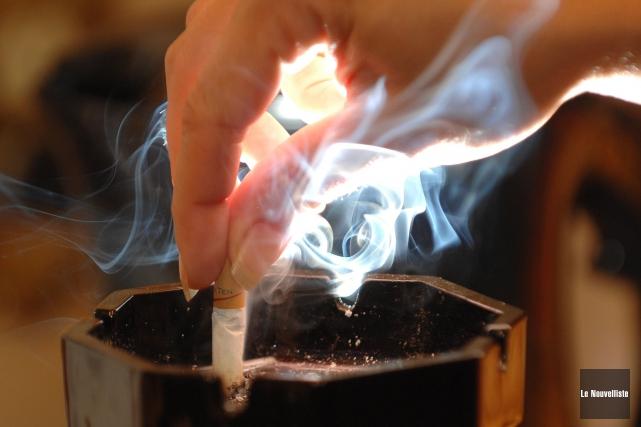 En réponse au projet de loi 44 qui vise à renforcer la lutte au tabagisme, les... (Photo: Sylvain Mayer Le Nouvelliste)