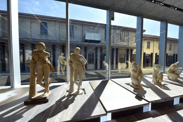 Le musée Prada est signé par l'architecte Rem... (PHOTO AFP)