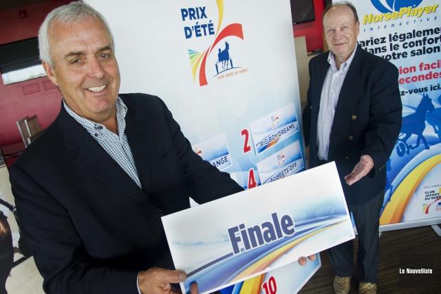 Vincent Trudel, le directeur général du club Jockey... (Photo: Andréanne Lemire Le Nouvelliste)