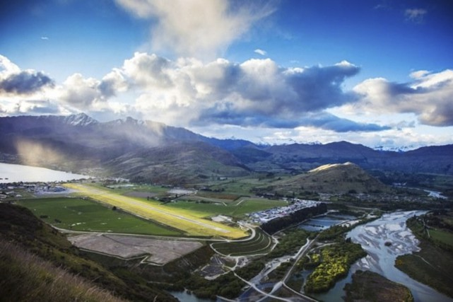 L'aéroport international de Queenstown, en Nouvelle-Zélande, offre une... (PHOTO FOURNIE PAR L'AÉROPORT INTERNATIONAL DE QUEENSTOWN)