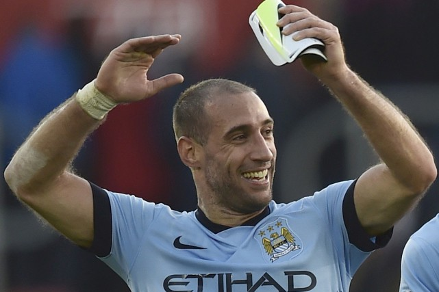 Pablo Zabaleta... (Photo Toby Melville, archives Reuters)