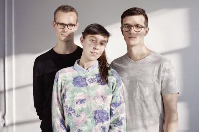 Le trio Braids est formé de Taylor Smith,... (Courtoisie)